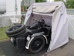 Motorcycle sidecar cover