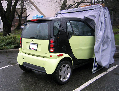 The Trike Model cover makes a great portable and waterproof Smart Car car cover. & Smart Car car cover Smart Car storage Smart Car cover - Bike Barn