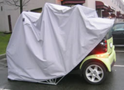 Smart Car In The Trike Cover
