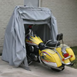 Goldwing, Electraglide storage, ATV covers