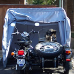 Trike bike cover, sidecar cover, Smart Car cover