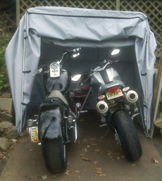Bike Barn trike motorcycle cover fitting two standard motorcycles