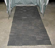 Bike Barn Motorcycle Cover Floor