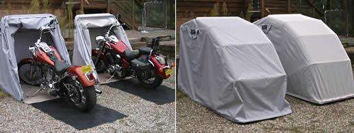 Bike Barn Motorbike covers held up under 24 inches of snow
