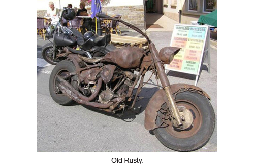 Old Rusty.