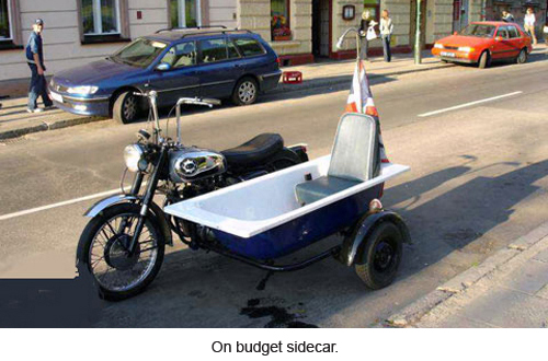 On buget sidecar.